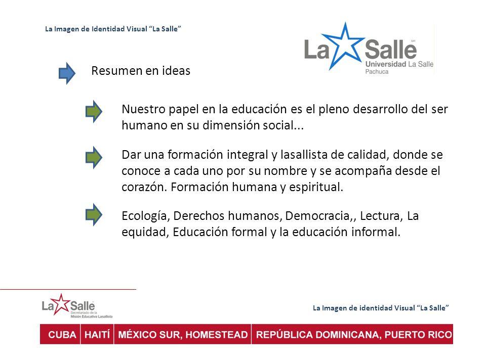 La Imagen de Identidad Visual La Salle