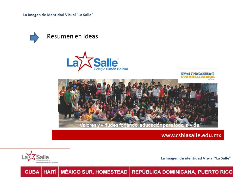 Resumen en ideas www.csblasalle.edu.mx