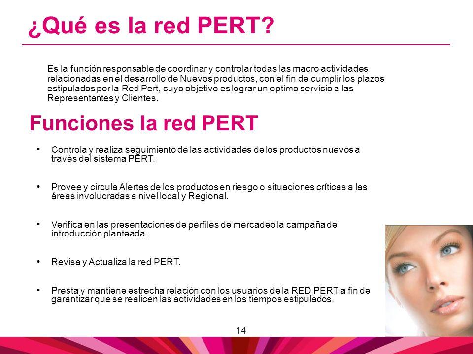 ¿Qué es la red PERT Funciones la red PERT