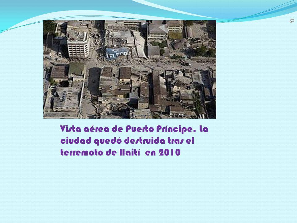 Vista aérea de Puerto Príncipe
