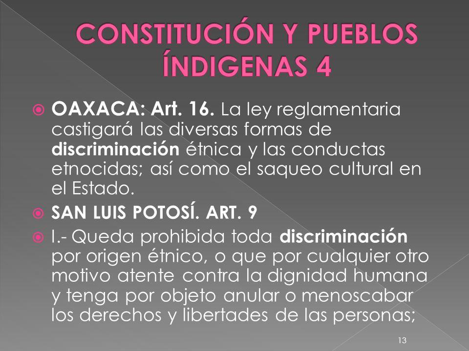 CONSTITUCIÓN Y PUEBLOS ÍNDIGENAS 4