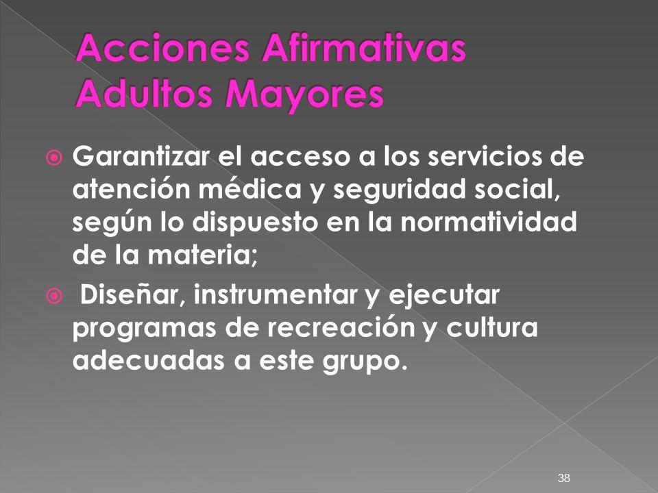 Acciones Afirmativas Adultos Mayores