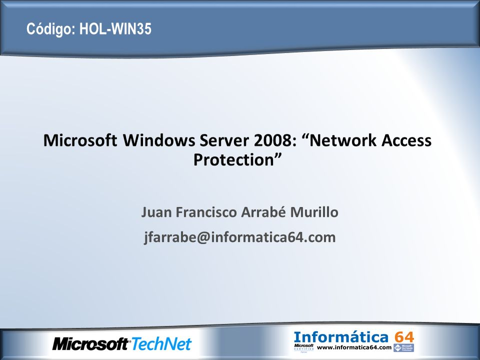 Microsoft Windows Server 2008: Network Access Protection