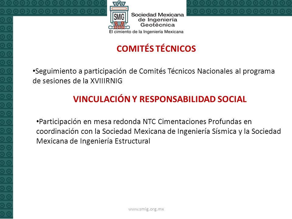 VINCULACIÓN Y RESPONSABILIDAD SOCIAL
