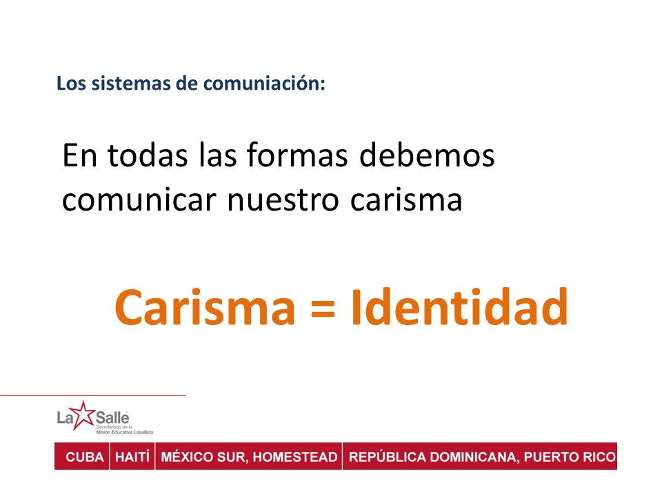 Los sistemas de comuniación:
