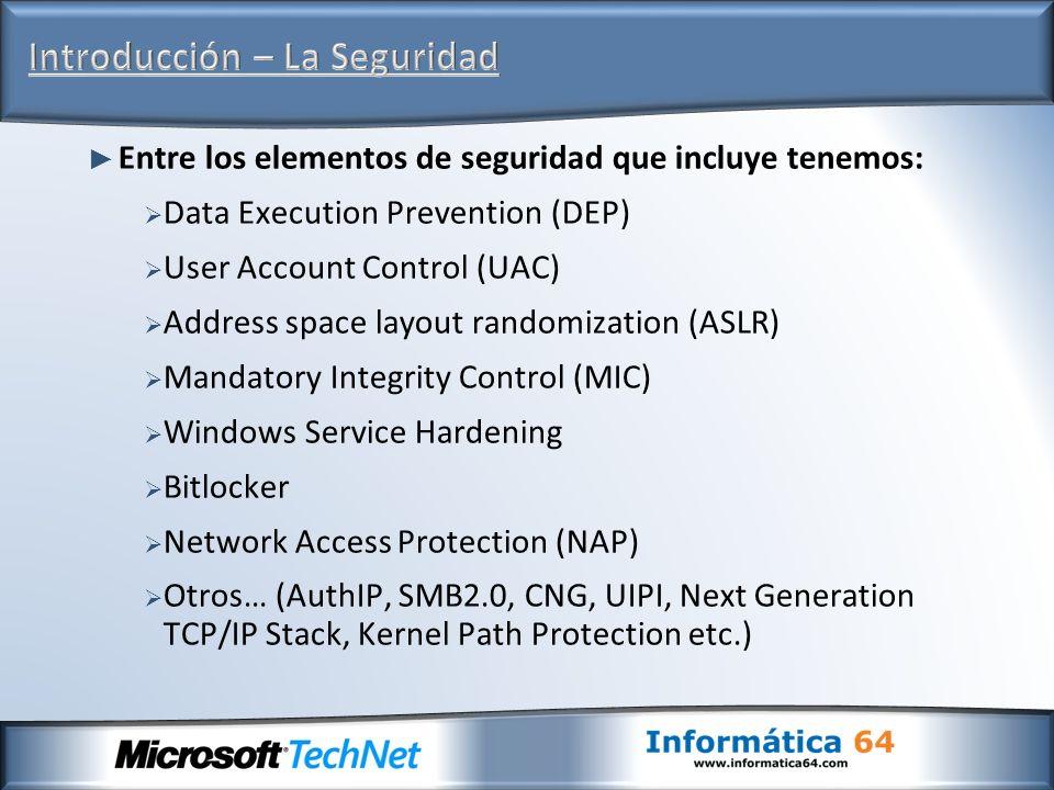 Introducción – La Seguridad