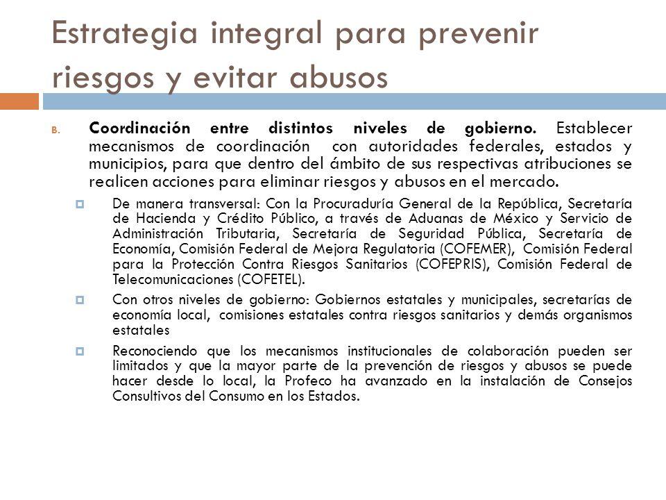 Estrategia integral para prevenir riesgos y evitar abusos
