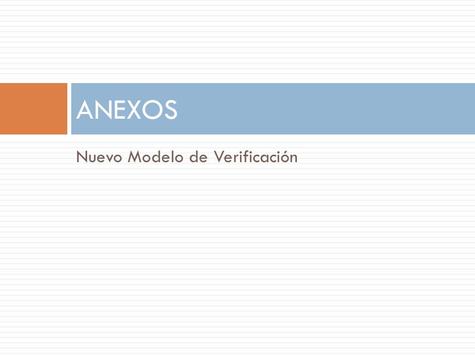 ANEXOS Nuevo Modelo de Verificación