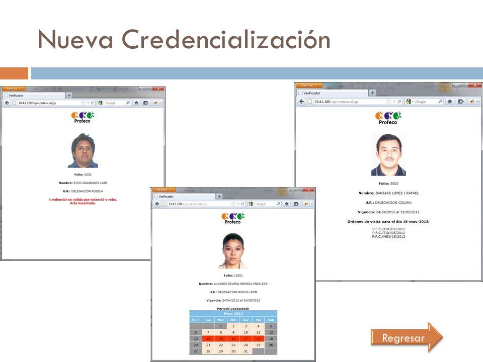 Nueva Credencialización