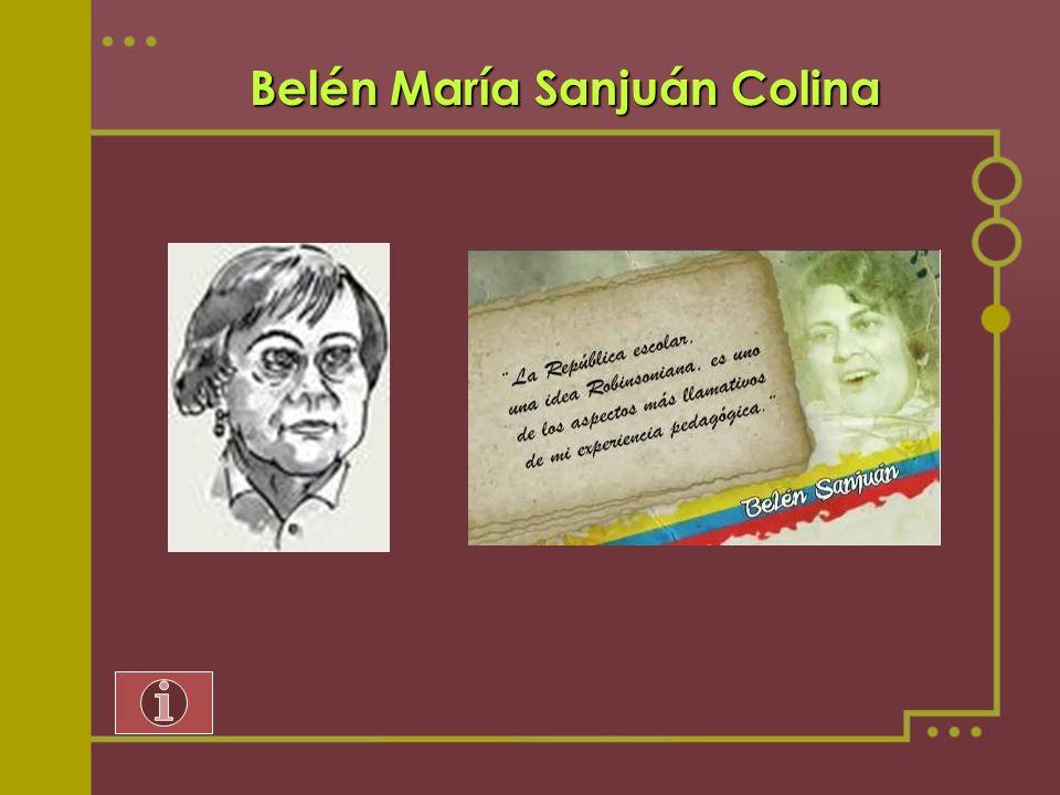 Belén María Sanjuán Colina