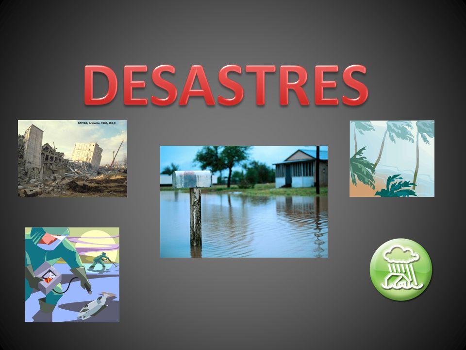 DESASTRES