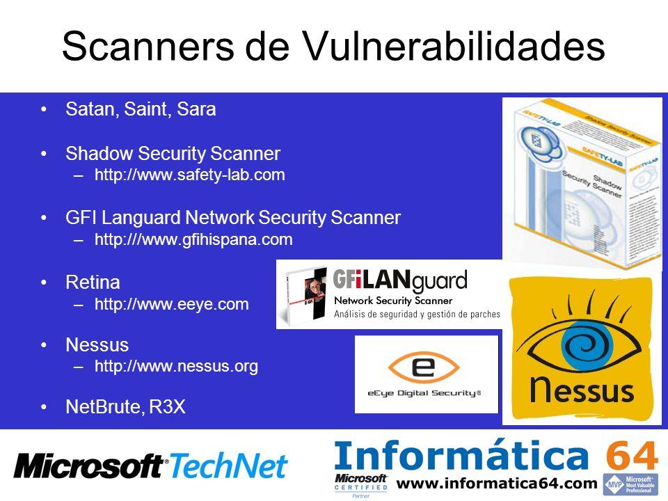 Scanners de Vulnerabilidades