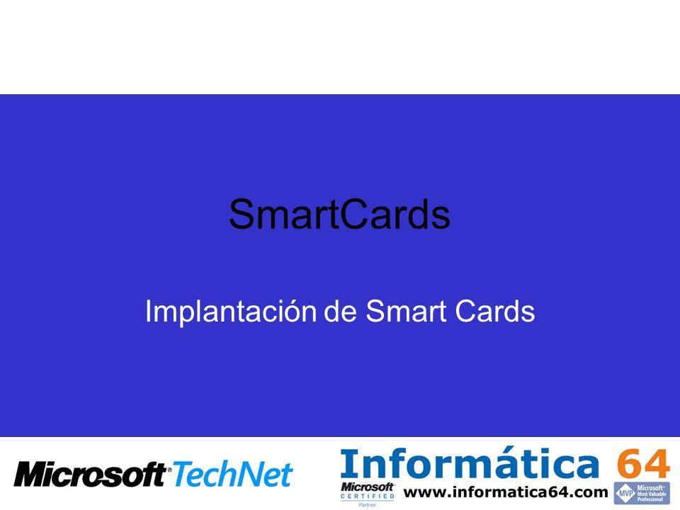 Implantación de Smart Cards