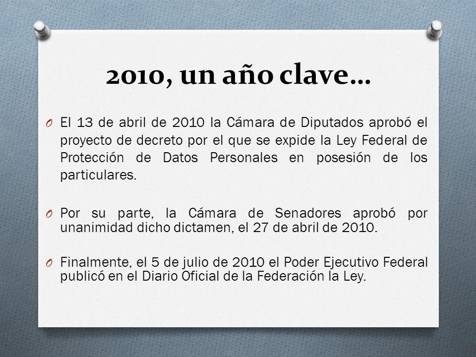 2010, un año clave…