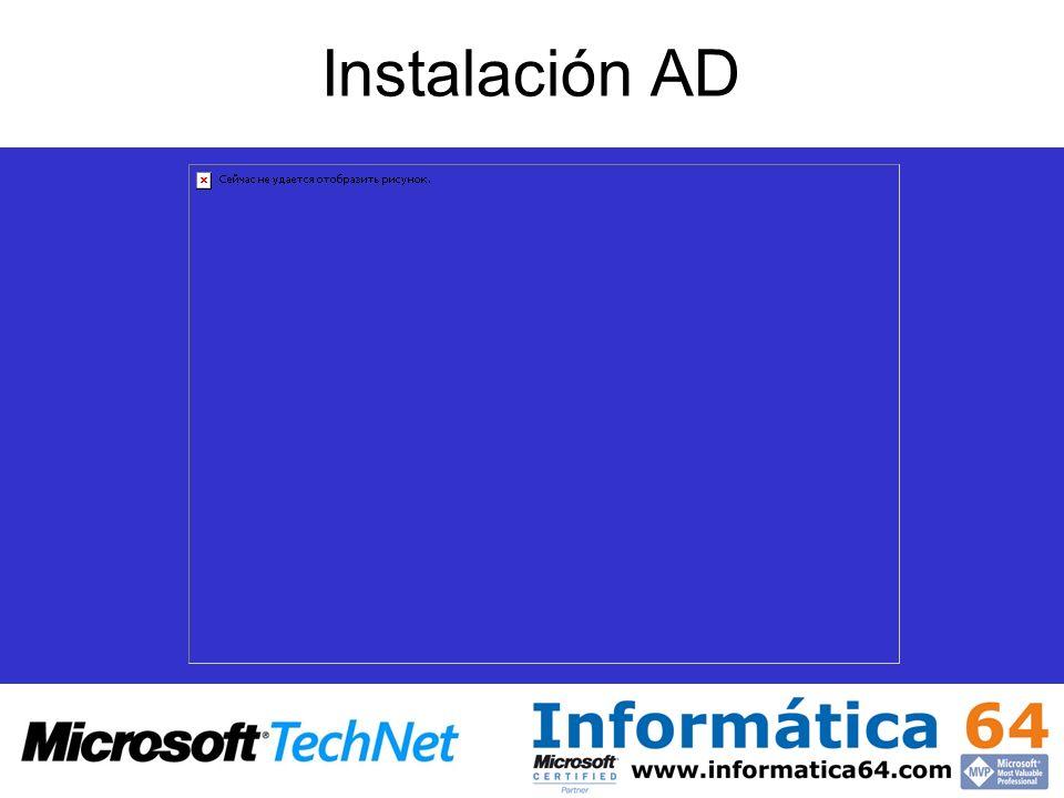 Instalación AD