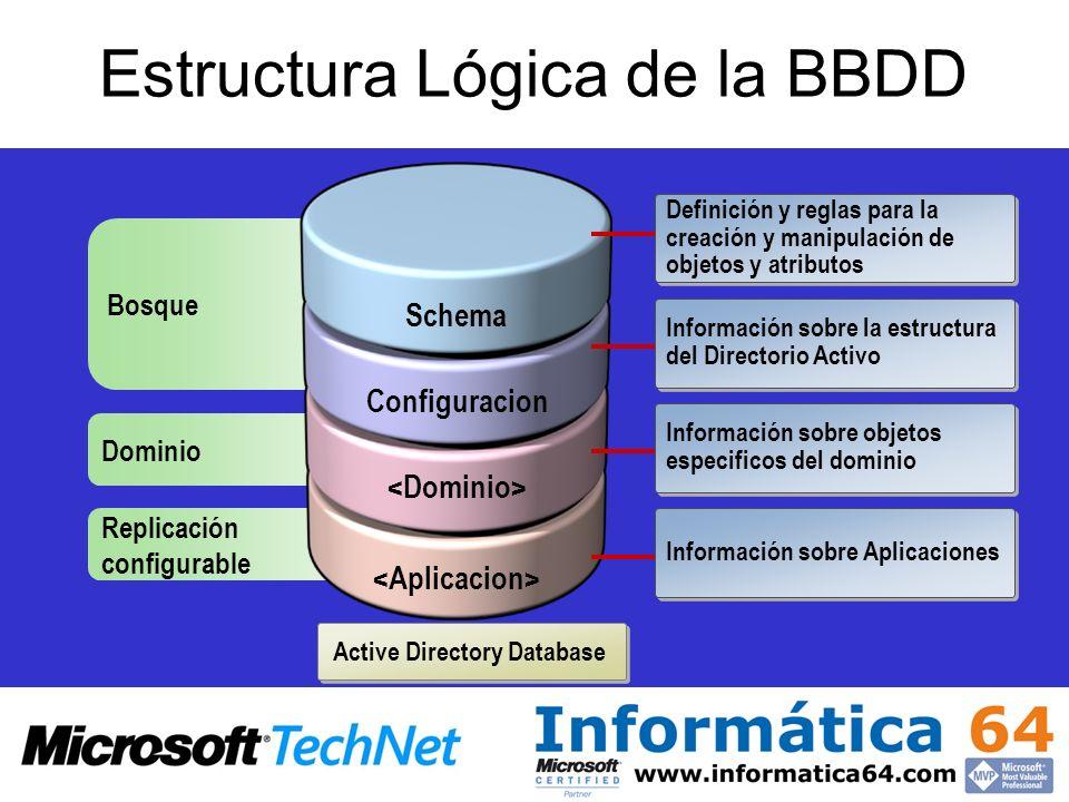 Estructura Lógica de la BBDD
