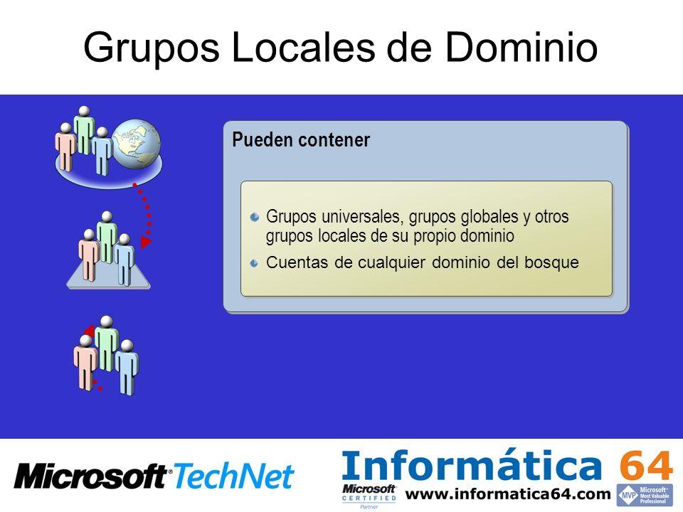 Grupos Locales de Dominio