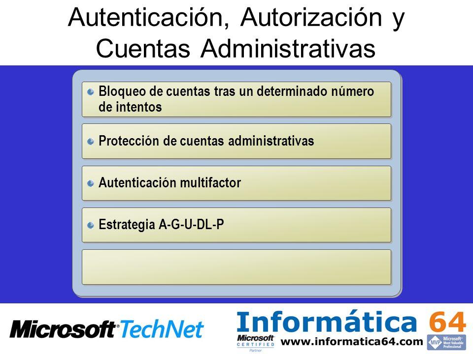 Autenticación, Autorización y Cuentas Administrativas