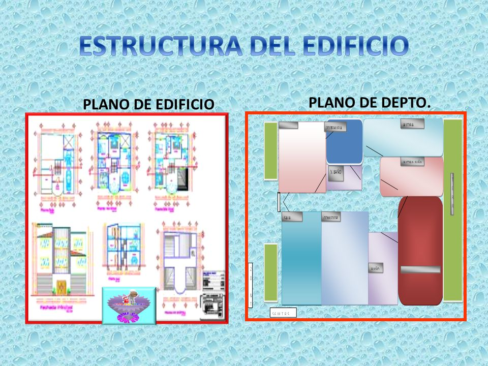 ESTRUCTURA DEL EDIFICIO