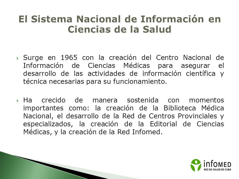 El Sistema Nacional de Información en Ciencias de la Salud
