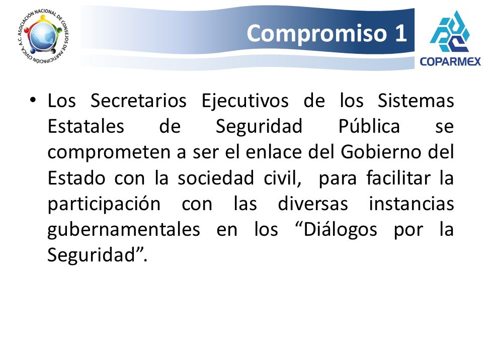 Compromiso 1