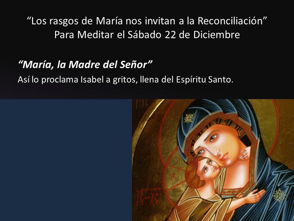 María, la Madre del Señor