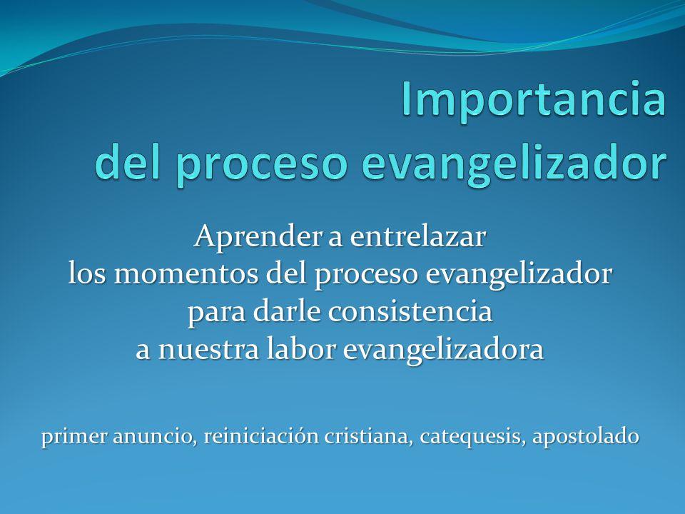 Importancia del proceso evangelizador