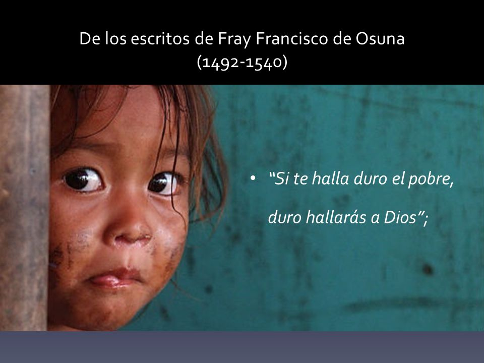 De los escritos de Fray Francisco de Osuna (1492-1540)
