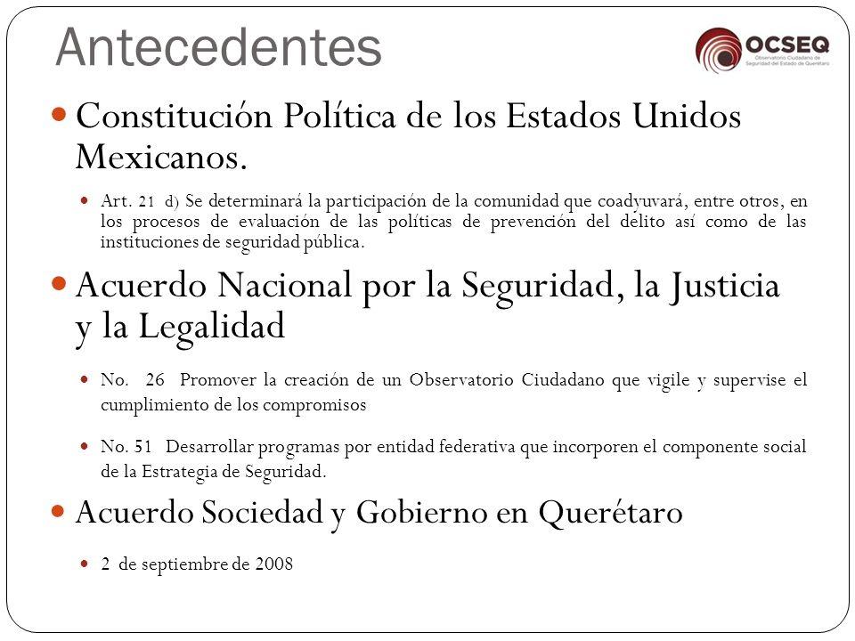 Antecedentes Constitución Política de los Estados Unidos Mexicanos.
