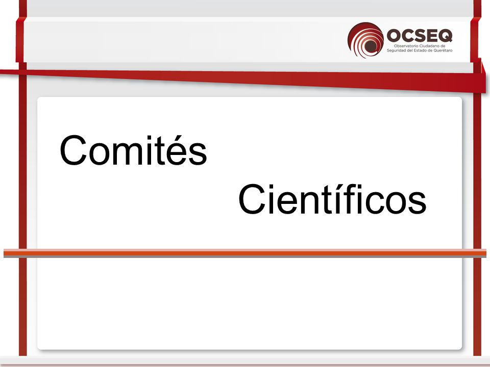 Comités Científicos