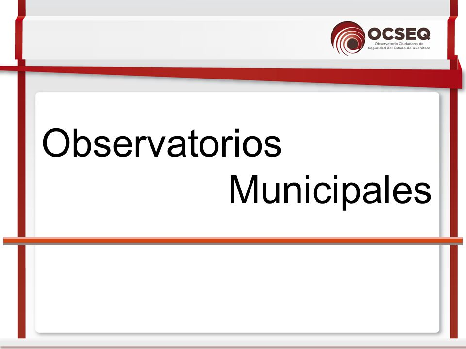 Observatorios Municipales