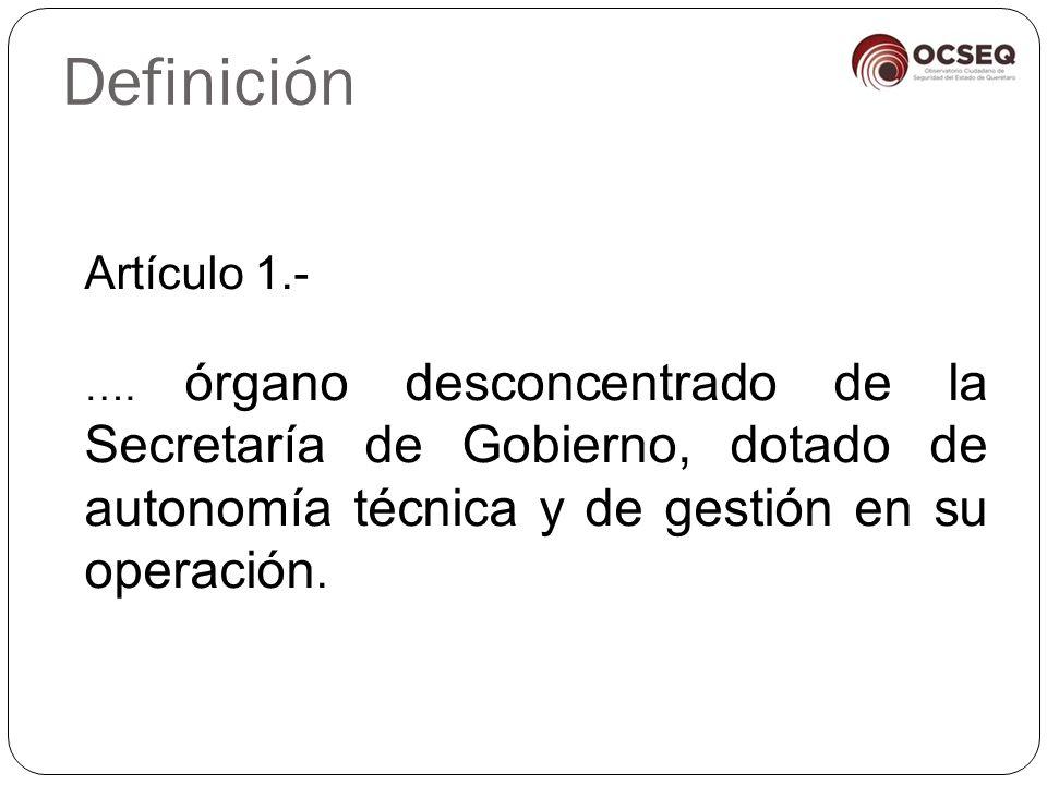 Definición Artículo 1.- ….