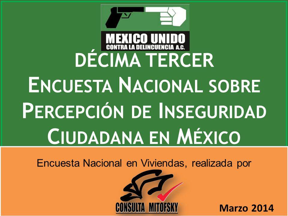 Encuesta Nacional sobre Percepción de Inseguridad Ciudadana en México