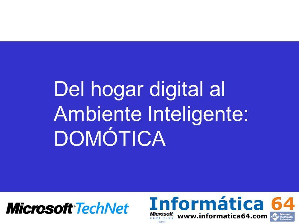 Del hogar digital al Ambiente Inteligente: DOMÓTICA
