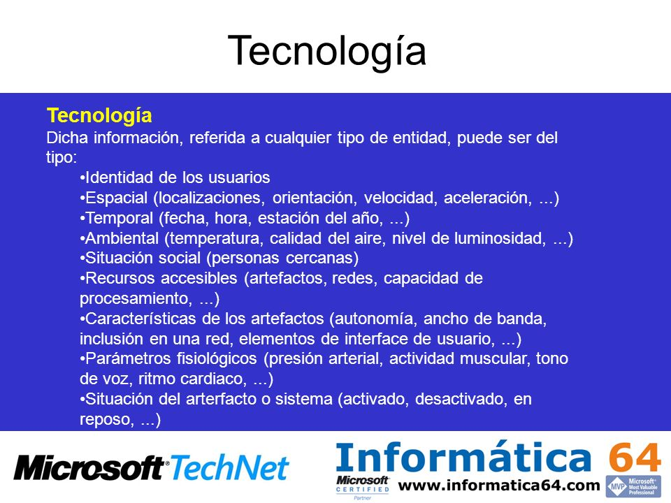 Tecnología Tecnología
