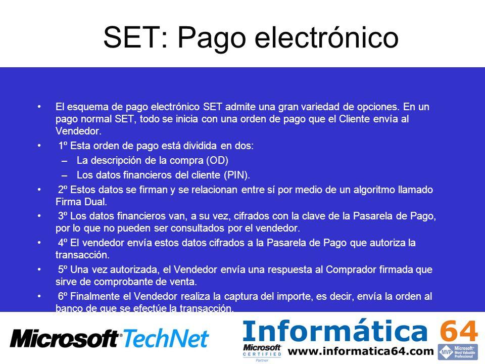 SET: Pago electrónico