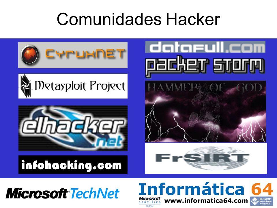 Comunidades Hacker infohacking.com