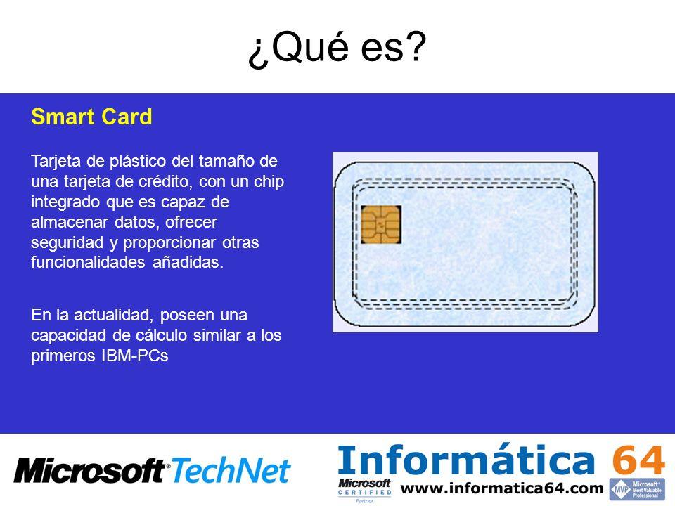 ¿Qué es Smart Card.
