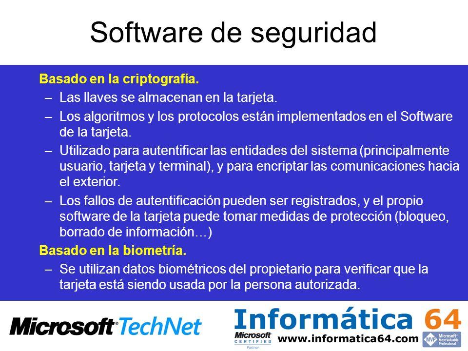 Software de seguridad Basado en la criptografía.