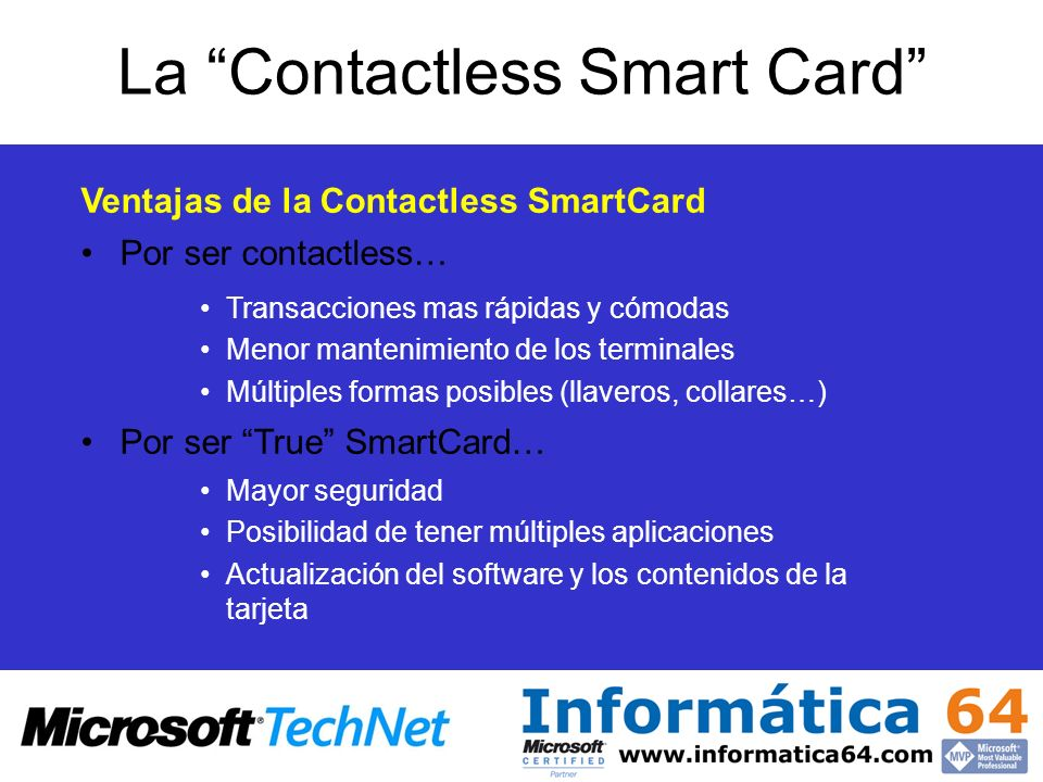 La Contactless Smart Card