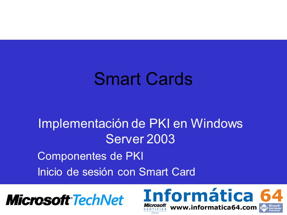 Implementación de PKI en Windows Server 2003