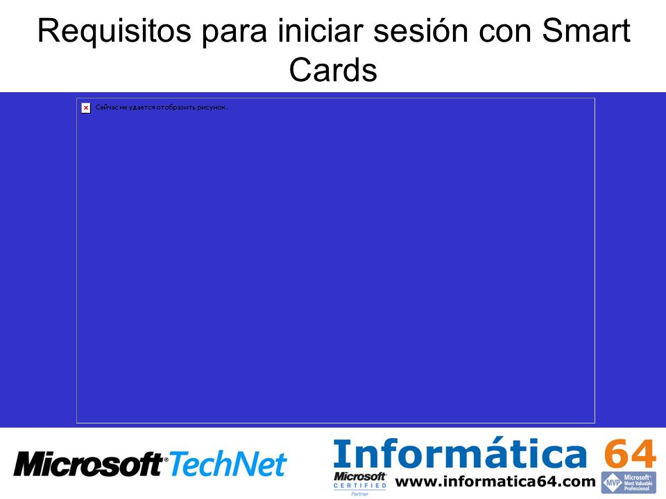 Requisitos para iniciar sesión con Smart Cards