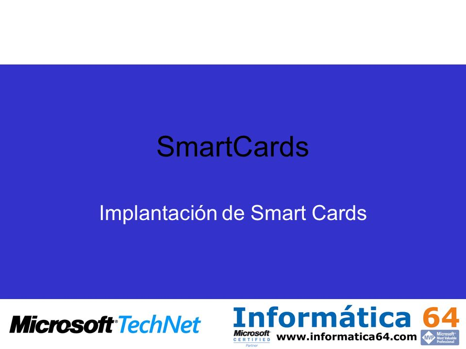 Implantación de Smart Cards