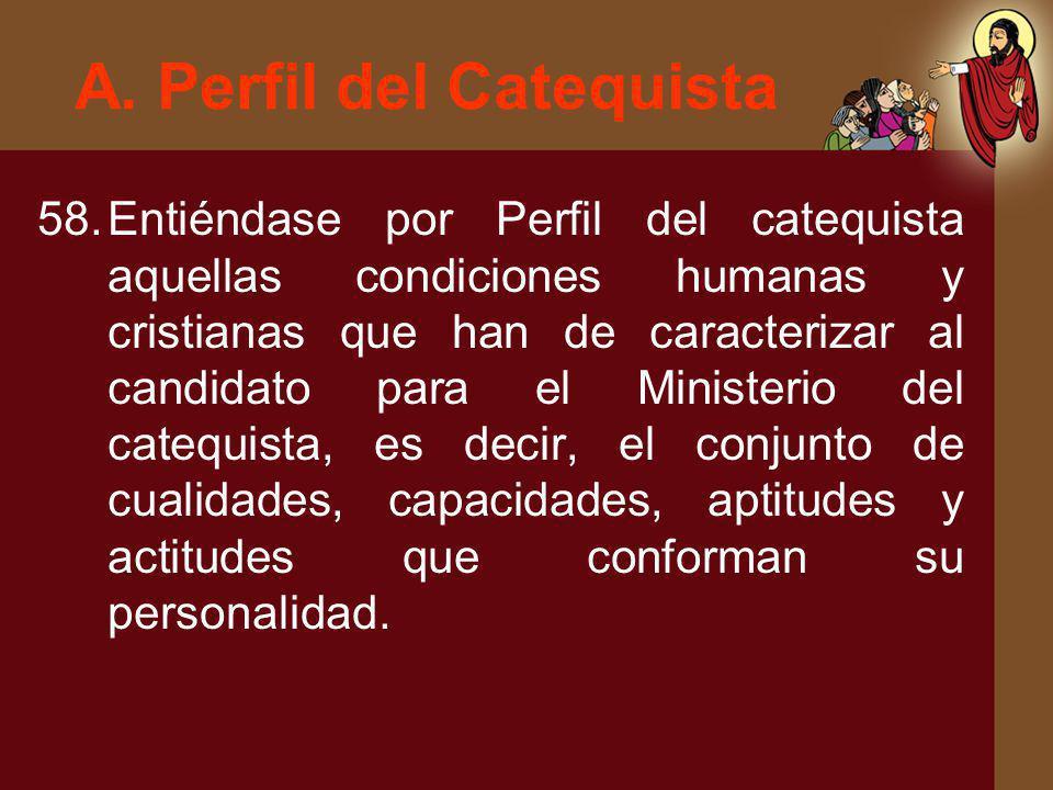 A. Perfil del Catequista