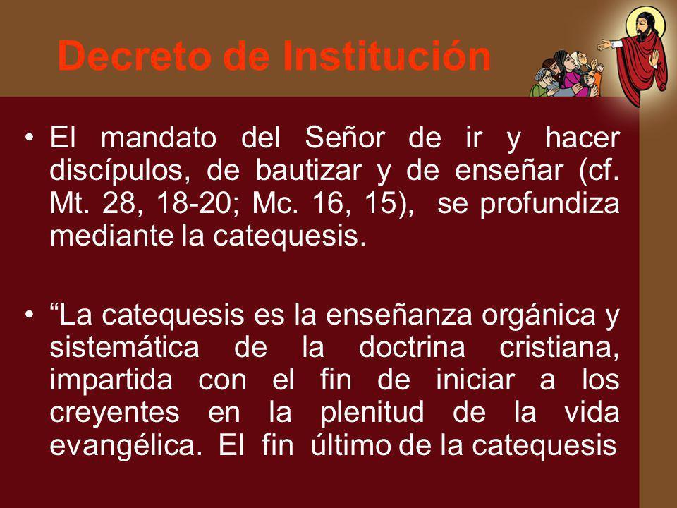Decreto de Institución