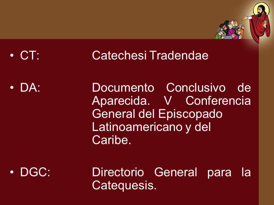 CT: Catechesi Tradendae