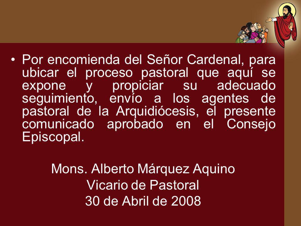 Mons. Alberto Márquez Aquino