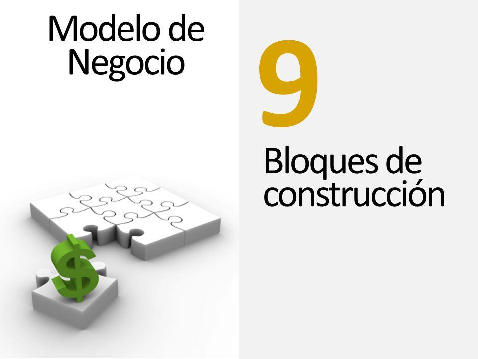 9 Modelo de Negocio Bloques de construcción