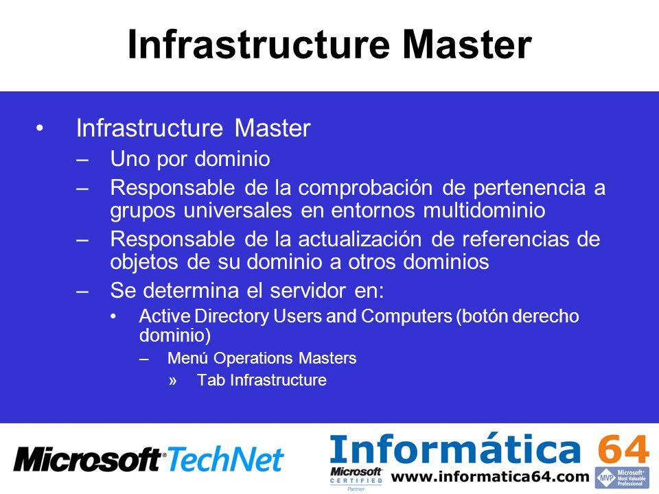 Infrastructure Master