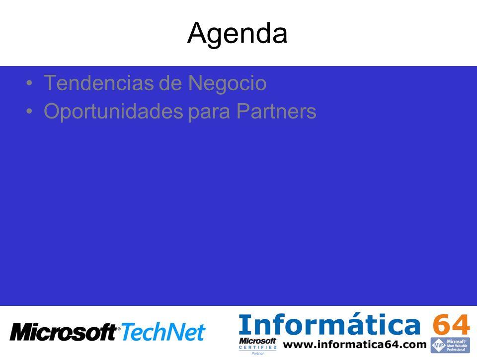 Agenda Tendencias de Negocio Oportunidades para Partners